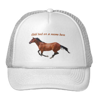 Thoroughbred Gallop Hat