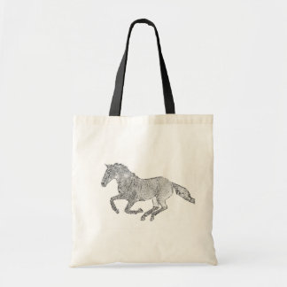 Thoroughbred Gallop Tote Bag