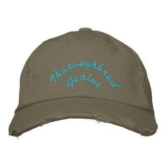 Thoroughbred Genius classic ball cap Embroidered Cap