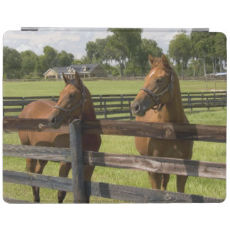 Thoroughbred horse farm in Marion County, iPad Cover