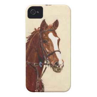 Thoroughbred Horse Portrait Case-Mate Case iPhone 4 Case