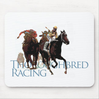 Thoroughbred Horse Racing Gifts Mouse Pad