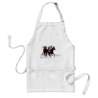 Thoroughbred Horse Racing Gifts Standard Apron