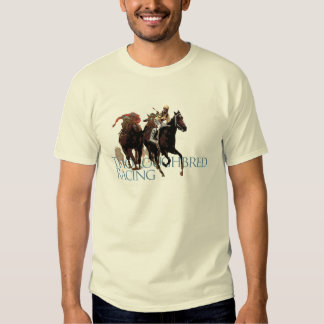 Thoroughbred Horse Racing Gifts Tshirt