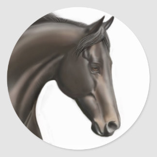 Thoroughbred Horse Sticker