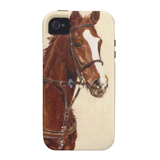 Thoroughbred iPhone 4 Touch Case-Mate Case