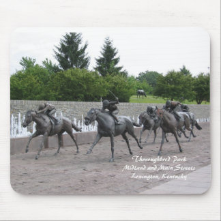 Thoroughbred Park Mouse Pad