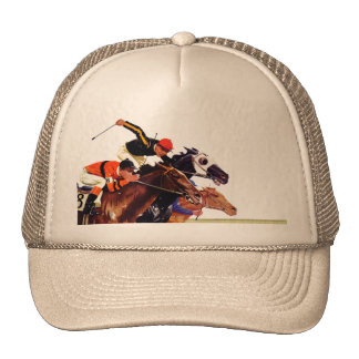 Thoroughbred Race Cap
