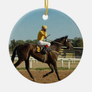 Thoroughbred Race Horse Ornament