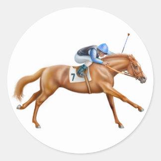 Thoroughbred Racehorse Sticker