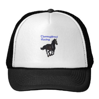 THOROUGHBRED RACING TRUCKER HAT