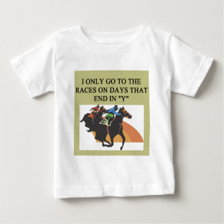 thoroughbred racing lovers baby T-Shirt