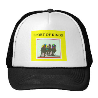 thoroughbred racing lovers cap