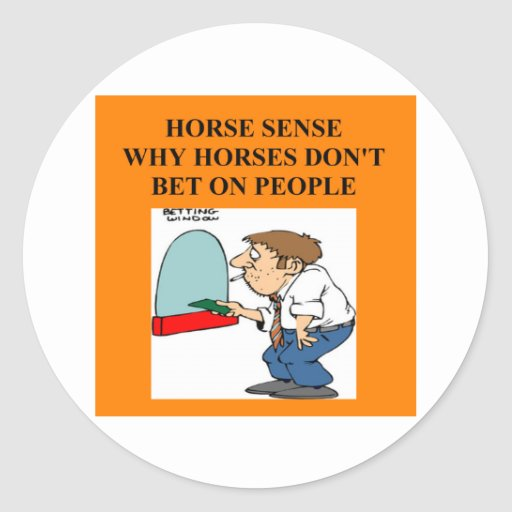 thoroughbred racing lovers stickers