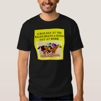 thoroughbred racing lovers tshirts