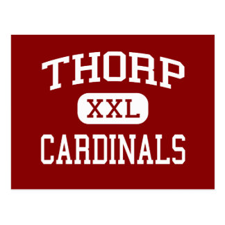 Thorp - Cardinals - Elementary - Thorp Wisconsin Postcard