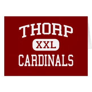 Thorp - Cardinals - High School - Thorp Wisconsin Cards