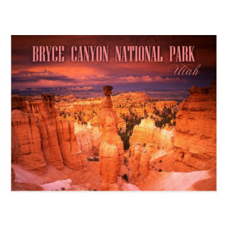 Thor's Hammer, Bryce Canyon National Park, UT Postcard