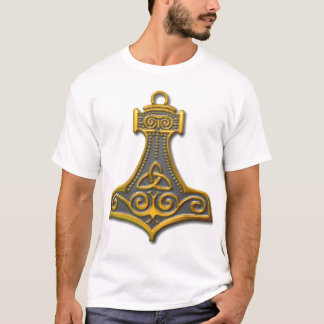 Thor's Hammer-gold T-Shirt