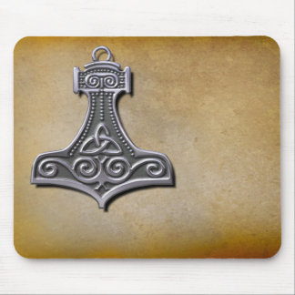 Thor's Hammer_Silver Mouse Mat