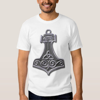Thor's Hammer-silver Tees