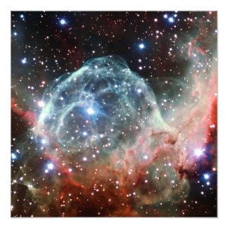Thor's Helmet Nebula Space Photographic Print