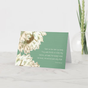 Those we love card