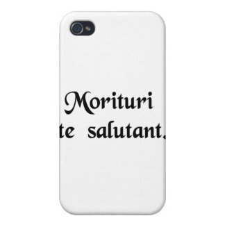 Those who are about to die salute you iPhone 4/4S covers