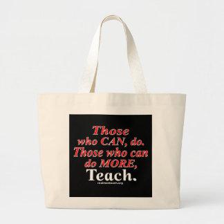 Those who can do MORE... Jumbo Tote Bag
