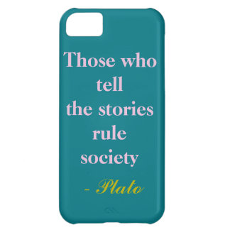 Those who tell stories iPhone 5C case