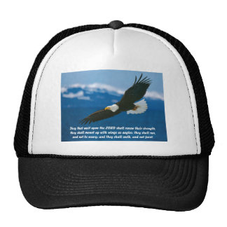 Those Who Wait On The Lord Mesh Hat
