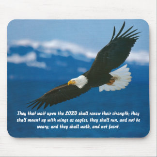 Those Who Wait On The Lord Mouse Pad