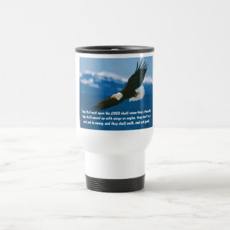 Those Who Wait On The Lord Stainless Steel Travel Mug