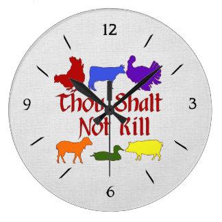 Thou Shall Not Kill Large Clock