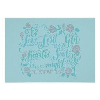 Thou Shalt Love the Lord thy God Poster