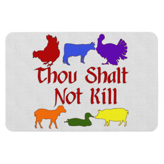 Thou Shalt Not Kill Magnet