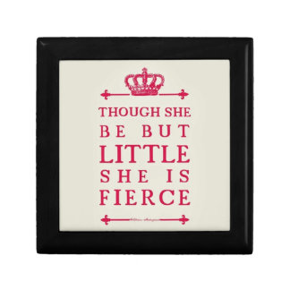 Though she be but little she is fierce gift box