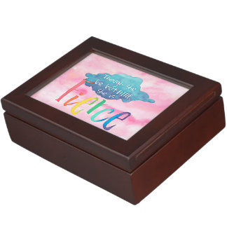 Though She Be But Little, She Is Fierce. Keepsake Box