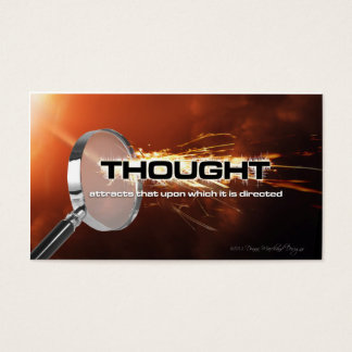 Thought Attracts Goal Cards