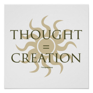 Thought Creation Posters