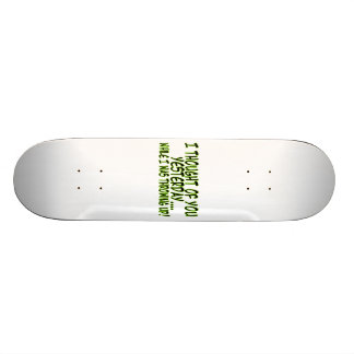 Thought Of You While Throwing Up 21.6 Cm Skateboard Deck
