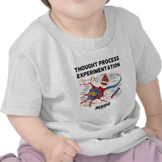 Thought Process Experimentation Inside Neuron T-shirt