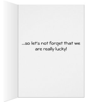 Thought provoking card