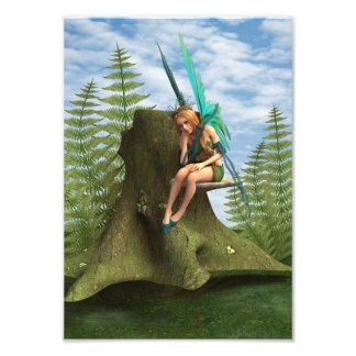 Thoughtful Fairy Photo Print