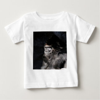 Thoughtful  Gorilla Baby T-Shirt