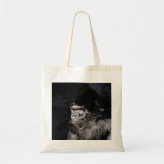 Thoughtful Gorilla Tote Bags