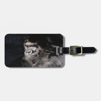Thoughtful  Gorilla Luggage Tag