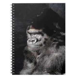 Thoughtful  Gorilla Notebook