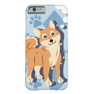 Thoughtful Shiba Inu Barely There iPhone 6 Case