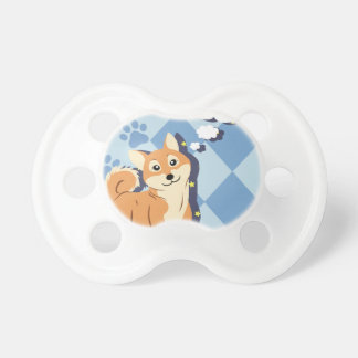 Thoughtful Shiba Inu Pacifier